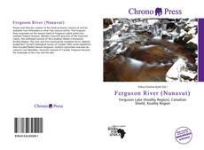 Bookcover of Ferguson River (Nunavut)