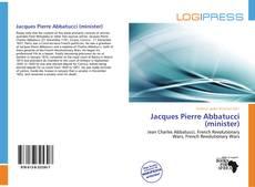 Copertina di Jacques Pierre Abbatucci (minister)