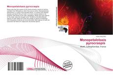 Обложка Monopetalotaxis pyrocraspis
