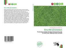 Bookcover of Eric Hill (Cricketer)