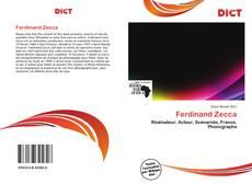 Buchcover von Ferdinand Zecca