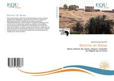 Bookcover of Histoire de Batna