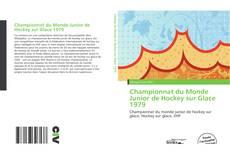 Portada del libro de Championnat du Monde Junior de Hockey sur Glace 1979