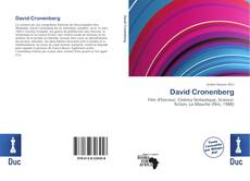 Copertina di David Cronenberg