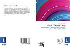 David Cronenberg kitap kapağı