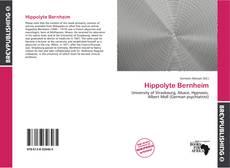 Bookcover of Hippolyte Bernheim