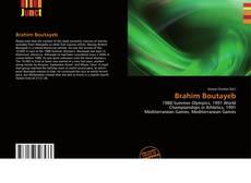 Brahim Boutayeb kitap kapağı