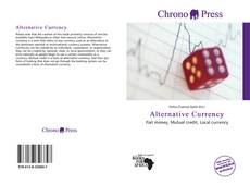 Bookcover of Alternative Currency