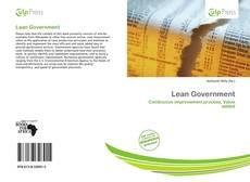 Buchcover von Lean Government