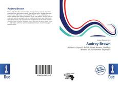 Bookcover of Audrey Brown