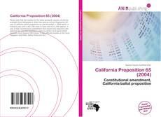 Capa do livro de California Proposition 65 (2004)