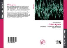 Bookcover of Chloë Agnew