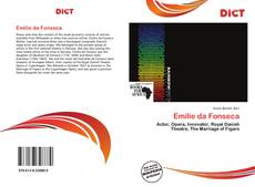 Bookcover of Emilie da Fonseca