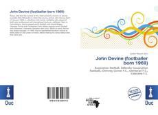 Copertina di John Devine (footballer born 1969)