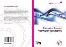 Portada del libro de Christopher Borough