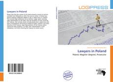 Bookcover of Lawyers in Poland