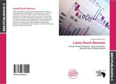 Bookcover of Lame Duck Session