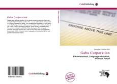 Couverture de Gaba Corporation
