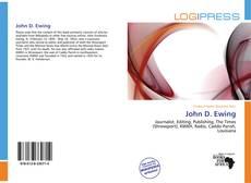 Bookcover of John D. Ewing