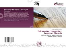 Bookcover of Fellowship of Humanity v. County of Alameda