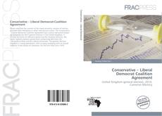 Capa do livro de Conservative – Liberal Democrat Coalition Agreement