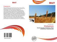 Bookcover of Cladoptosis
