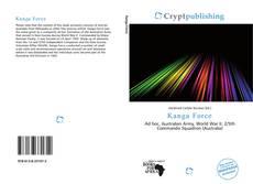 Capa do livro de Kanga Force