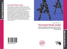 Bookcover of Karamjeet Singh Judge