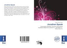 Bookcover of Jonathan Speak