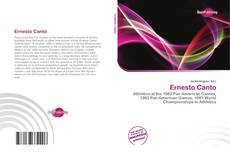 Bookcover of Ernesto Canto