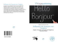Capa do livro de Influence du français sur l'anglais