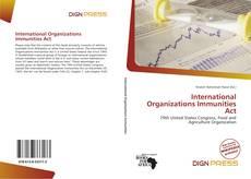 Portada del libro de International Organizations Immunities Act