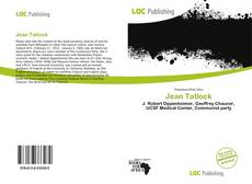 Jean Tatlock kitap kapağı