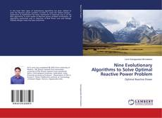 Capa do livro de Nine Evolutionary Algorithms to Solve Optimal Reactive Power Problem