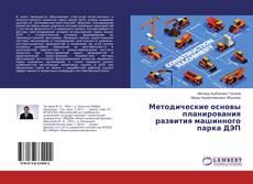 Bookcover of Методические основы планирования развития машинного парка ДЭП