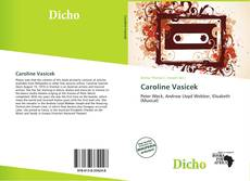 Capa do livro de Caroline Vasicek