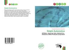 Bookcover of Delphi Automotive