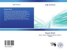 Bookcover of Rasoir Droit