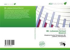 Bookcover of Mt. Lebanon School District