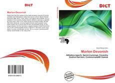 Capa do livro de Marlon Devonish