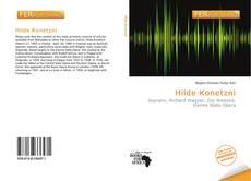 Hilde Konetzni kitap kapağı