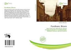 Bookcover of Fordham, Bronx