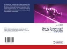 Portada del libro de Women Empowerment Through Panchayati Raj Institution