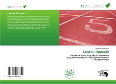 Capa do livro de Leszek Dunecki