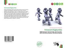 Bookcover of Innocent Egbunike
