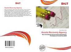 Copertina di Assets Recovery Agency