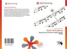 Bookcover of Gouri Choudhury