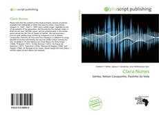 Capa do livro de Clara Nunes