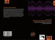 Capa do livro de 3rd Army (Soviet Union)