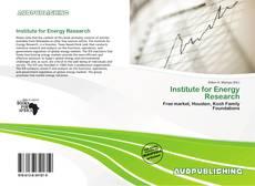 Buchcover von Institute for Energy Research